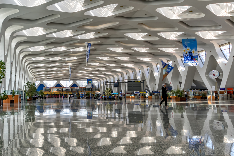Marrakesh Airport has two passenger terminals.
